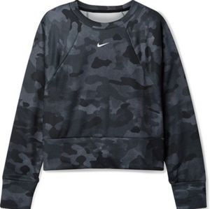 NIKE dri-fit crop long sleeves, size small